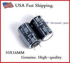 10X 1800UF 6.3V RUBYCON LOW ESR ELECTROLYTIC CAPACITORS 6.3V1800uf