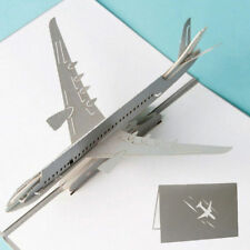 3D Pop Up Airplane Greeting Cards Christmas Birthday Valentine Invitation
