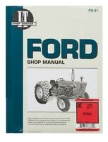 SHOP MANUAL Ford 2000 3000 4000 Tractor