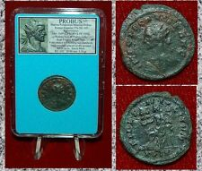 Ancient Roman Empire Coin Of PROBUS Fides With Two Standard Reverse Antoninianus