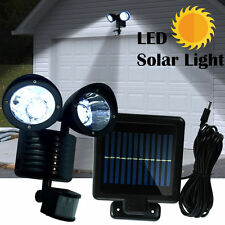 22 LED Solar Powered Motion Sensor PIR Security Light Garden Garage Outdoor