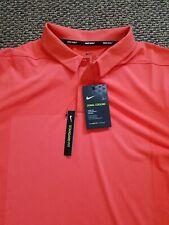 New $75 Nike Zonal Cooling Framing Men's Golf Polo Shirt Aq2723-816 Medium
