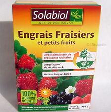 Engrais Fraisiers et petits fruits  750g, Solabiol