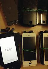 Lote De Trabajo 180 roto damged agrietado las pantallas LCD de iPhone 4/4S/5/5C/5S