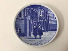 """Royal Copenhagen Denmark Kongens Livgarde 61-2010 Mini Plate, 3"""" Diameter"""