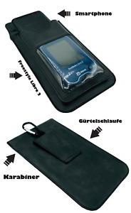 Freestyle Libre 2 & Handy Duo Bag Tasche zum Umhängen mit Sichtfenster