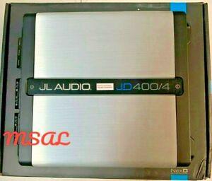 JL Audio JD400/4 4-Channel Class D Full-Range Amplifier - 400W  NEW