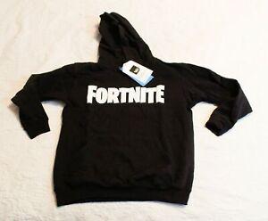 Vanilla Underground Boy's Youth Fortnite Pullover Hoodie FR7 Black Small NWT