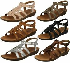 Clarks Leather Strappy Sandals for Women