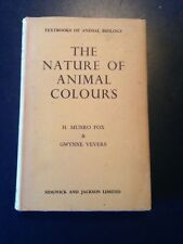 """""""The Nature of Animal Colours"""" Fox biology 1960"""