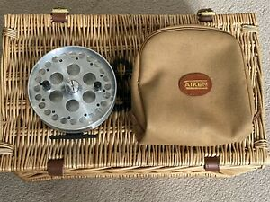 """Adcock """"Stanton"""" Classic 5 inch Centrepin, Lovely Free Running Reel, NEAR MINT"""