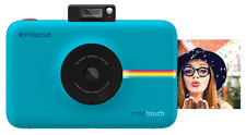 Polaroid Instant Print Digital Camera Snap Touch Screen LCD Ink Printing Blue