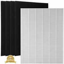 Wolfish 1 True Hepa Filter + 4 Carbon Replacement Filters 115115 Size 21 For Air
