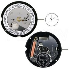 New Harley Ronda HQ505 505 White Date At 3,6 Watch Quartz Movement Caliber Parts