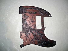 5 HOLE EMBOSSED FAUX LEATHER PICKGUARD FOR FENDER TELECASTER HOT ROD 52'