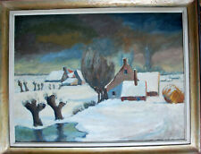 "Gobiet Bernhard *1891 Düsseldorf ""Winter in Flandern""Museum Kunstpalast MutterEy"