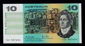 AUSTRALIA  10 DOLLARS ( 1979 )  TUF  PICK # 45c  UNC LESS.