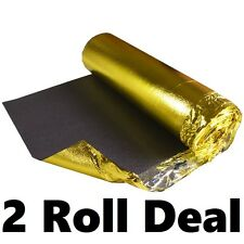 Sonic Gold 5mm Thick - Wood & Laminate Flooring Underlay - 2 Rolls