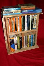 Rustic Wooden Shelves. Small book case, kitchen, boat, bathroom or bedside unit