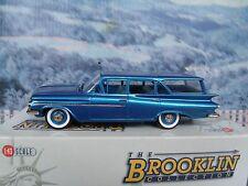 1/43 Brooklin models  Chevrolet brookwood station wagon 1959 white metal model