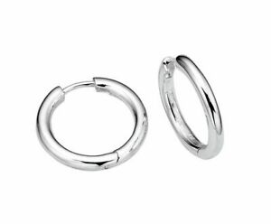 Sterling Silver Huggie Earrings Brand New