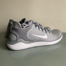 Nike Free RN 2018 Running Shoe Men's Size 8 Wolf Grey 942836-003