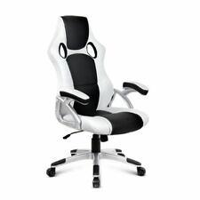 Artiss OCHAIR-G-9174-WH-BK Office Chair - Black/White