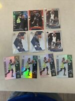 Jaylen Nowell 10-Card Rookie Lot : RED WAVE PRIZM Mosaic Hoops Laser Illusions