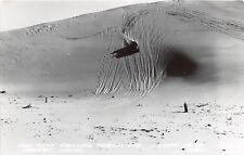 D40/ Mears Silver Lake Michigan Mi Photo RPPC Postcard 1955 Sand Dunes Buggy 1