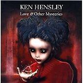 KEN HENSLEY - LOVE & OTHER MYSTERIES - CD ALBUM NEW SEALED