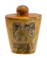 Bottiglia Bottiglietta Boccetta Arte Shunga Erotico Raro Curiosa 3485 K 75