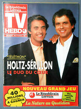►TV HEBDO / HOLTZ - SERILLON - ANTOINE - ADAMO  - PIERRE BACHELET