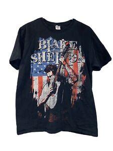Blake Shelton Well Lit & Amplified Tour 2012 Shirt Size Large