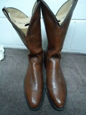 ABILENE Brown Leather Cowboy/Western Boots Mens Size 12 D