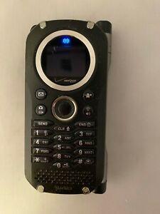 Casio G'zOne Brigade C741 - Black Verizon Cell Keyboard Phone Vintage Read Descr
