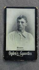 More details for scarce ogdens tabs cigarette card 'steve bloomer'  derby county f. c    c1902