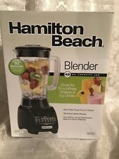 Hamilton Beach 48 oz. Capacity 10 Speed Blender Model 50123 Brand New In Box!