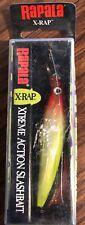 XR-8 Rapala X-Rap Color Clown (model XR08 CLN) NIB