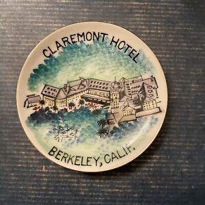 Claremont Hotel - Berkeley CA Oakland San Francisco Bay Area Trinket Wall Dish