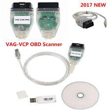 2017 VAG/PRO CAN BUS+UDS+K-line S.W Ver. 5.5.1 VCP VAG PRO OBD2 Car Scanner Todo