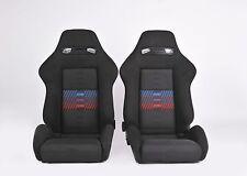 Recaro SRD Seats BMW M3 M5 M6 Rare M Fabric E30 Coupe Set E21 E24 E34 E36 E46