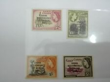 (RB 110) 1957 Gold Coast QE II Stamps, Independence. Set In 4 - MNH