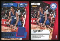 2018-19 Panini Threads Zhaire Smith Rookie Threads #RT-ZS GU Jersey RC 76ers NBA