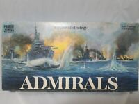 Admirals Board Game Vintage 1972 Parker Brothers Sea Battle Strategy Complete