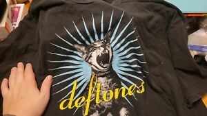 Deftones Adrenaline Shirt XL Signed By Stef Stephen Carpenter t-shirt