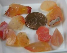 58.75ct Mexico 100% Natural Rough Raw Uncut Fire Opal Crystal Specimen 11.75g