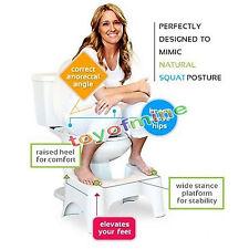 9'' Squatty Potty Tabouret Escabeau Toilette Côlon Santé Salle de Bain