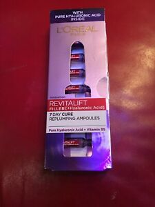 L'Oreal Paris Revitalift Filler Hyaluronic Acid Replumper 7X Ampoules AntiAgeing