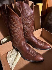 Sweet Vintage Cowboy Boots NIB by Justin!