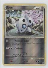 2010 Pokémon Triumphant Booster Pack Base Reverse Foil #56 Aron Pokemon Card 0dk